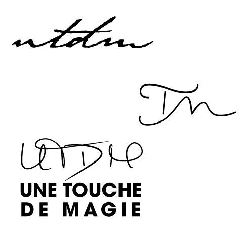Parcours, design du logo