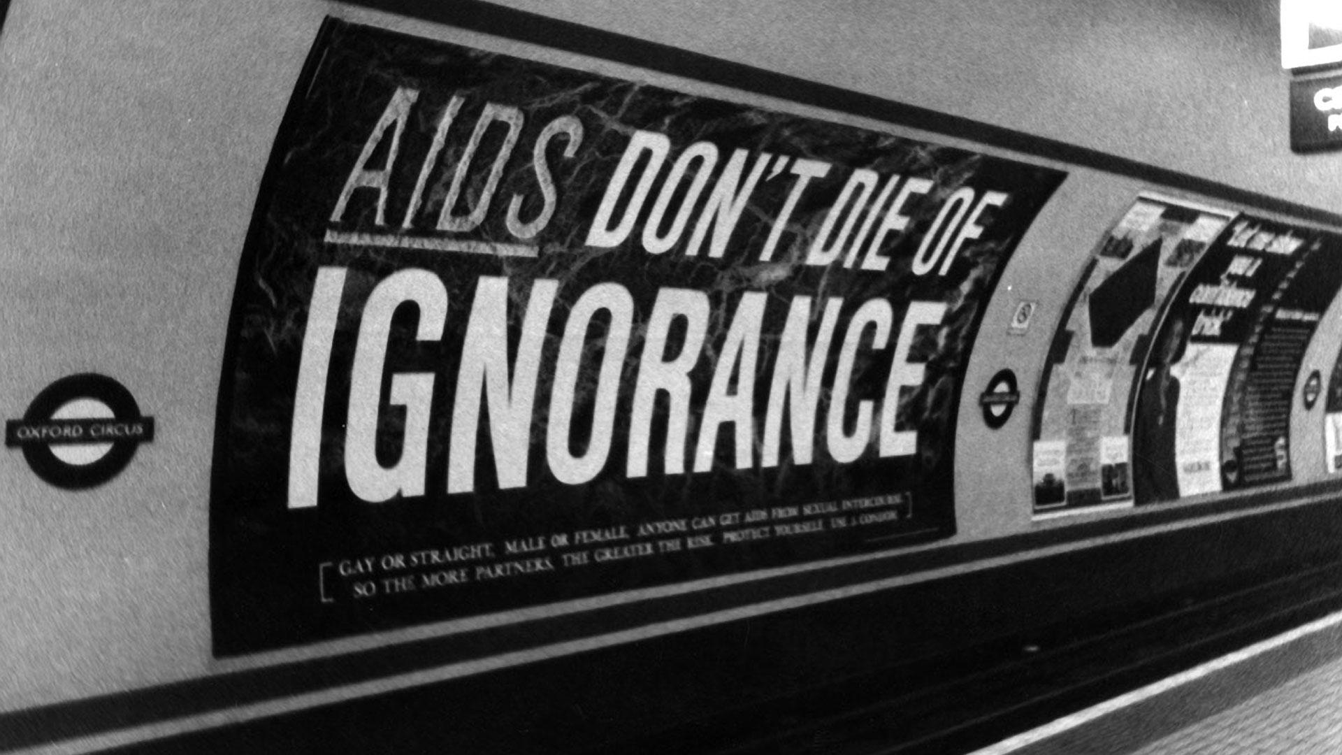 Design publicitaire SIDA